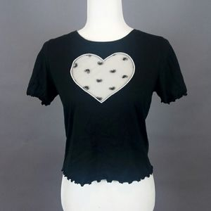 NEW! Victoria Secret Heart Cutout Tee